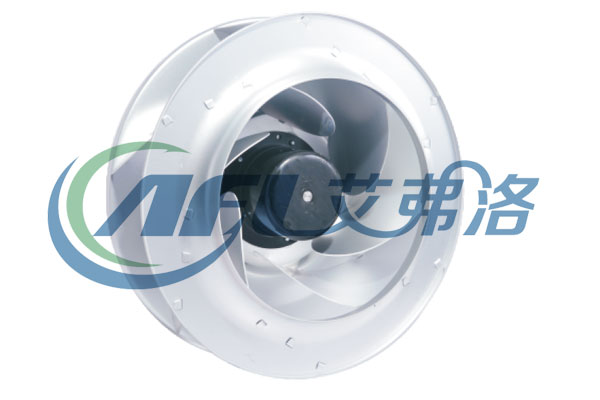 DC backward curved centrifugal fan blower