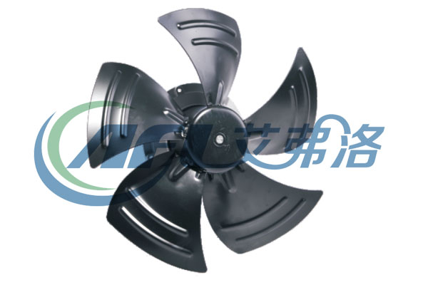 EC external rotor motor duct axial fan with speed controller
